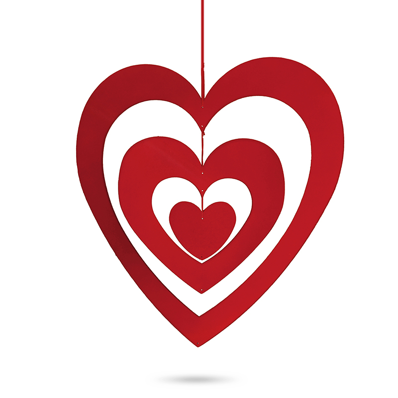 cb033cc589e 2D valentýnské srdce trojité